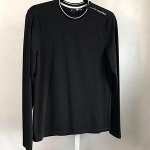Armani Exchange long sleeve shirt black S/XS